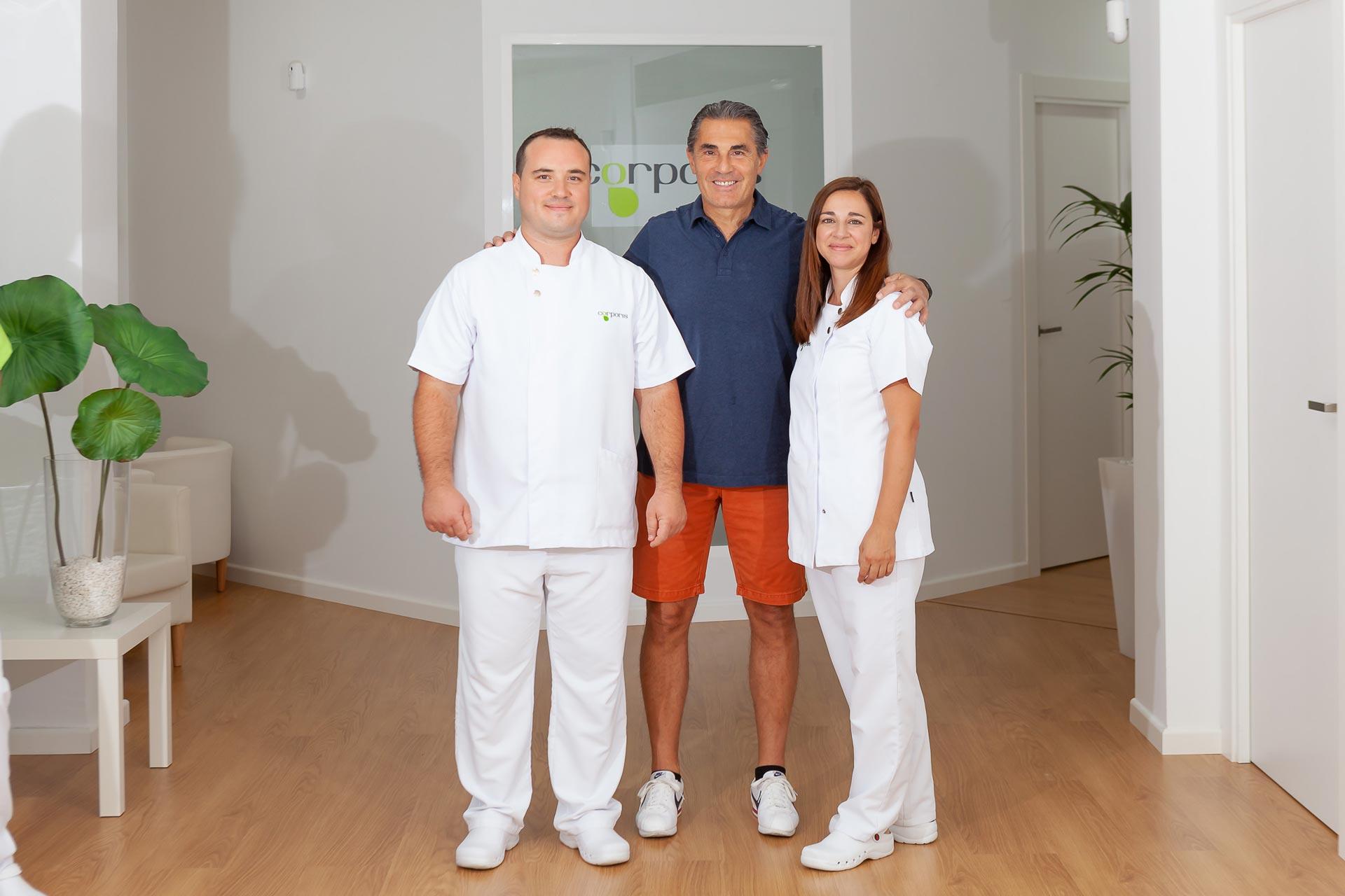 Sergio Scariolo en Corporis Fisioterapia
